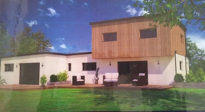 Notre projet notre maison rt2012 par trecobat for Combien faut il compter pour construire une maison