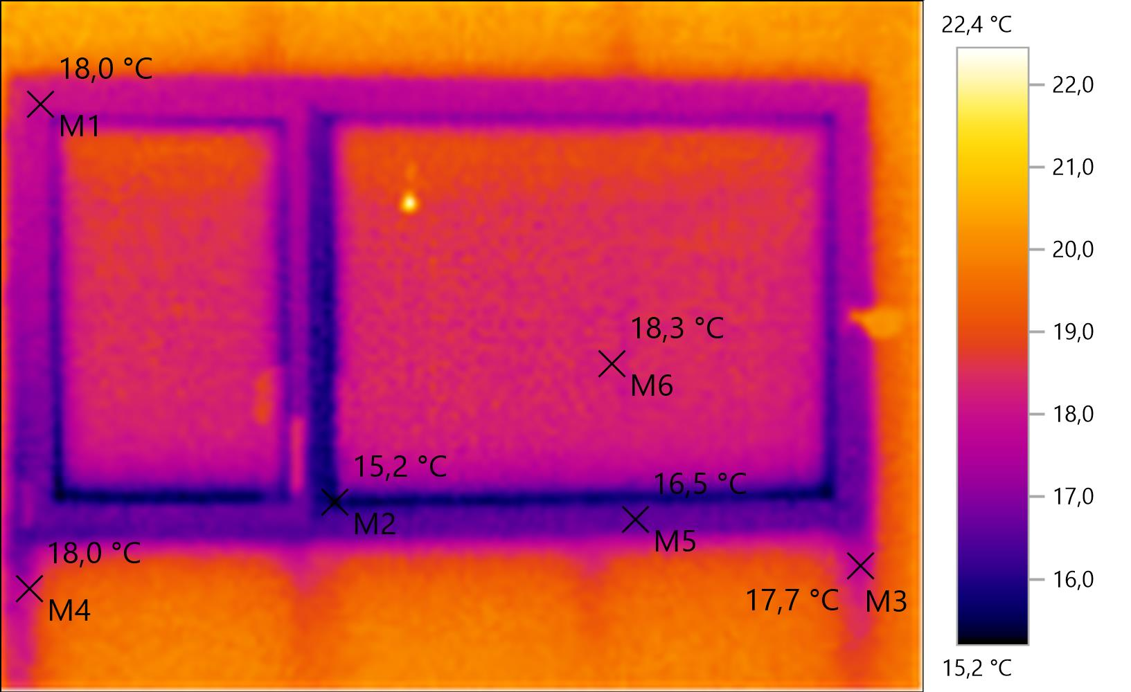 Test de la cam ra thermique testo 875 notre maison for Pont thermique fenetre