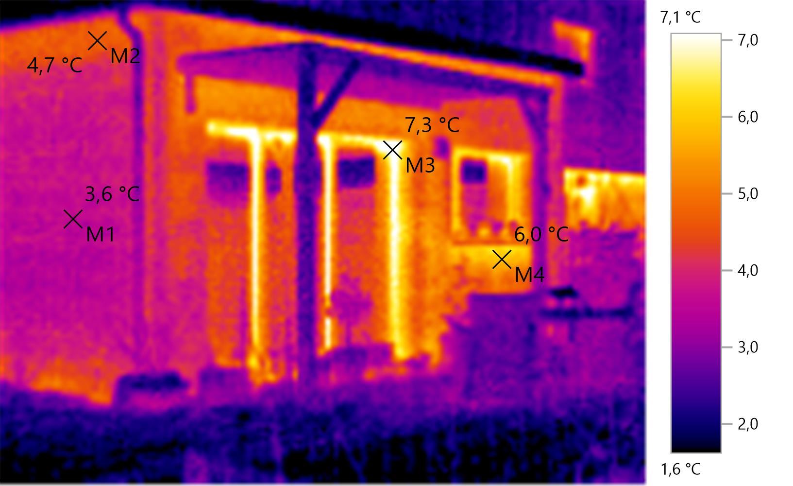 test de la cam ra thermique testo 875 notre maison rt2012 par trecobat. Black Bedroom Furniture Sets. Home Design Ideas