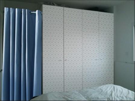d corer sa penderie ikea pax notre maison rt2012 par trecobat. Black Bedroom Furniture Sets. Home Design Ideas