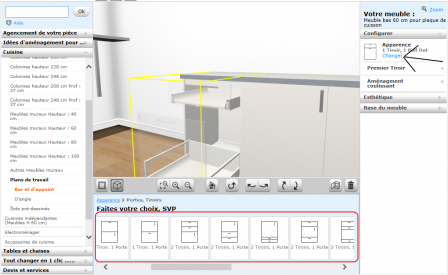 nos trucs et astuces du logiciel de cuisine ikea notre maison rt2012 par trecobat. Black Bedroom Furniture Sets. Home Design Ideas