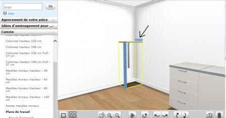 nos trucs et astuces du logiciel de cuisine ikea construction de notre maison rt2012. Black Bedroom Furniture Sets. Home Design Ideas