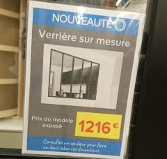 Construire sa biblioth que sur mesure notre maison rt2012 par trecobat - Verriere interieure en kit ...