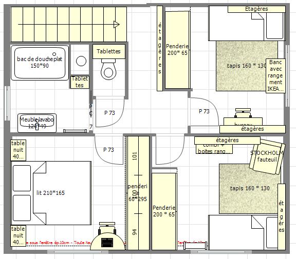 Projet de maison kangourou ou maison solidaire nos plans for Plan interieur maison en d